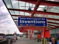 Entrance to Geneva Invention Exhibition