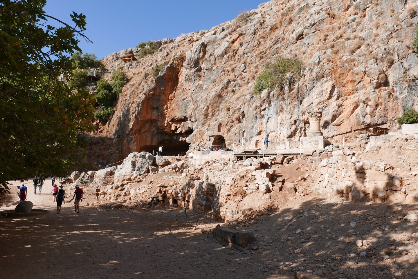 Temple of Pan in Banias