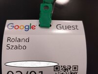 My Google Guest Badge